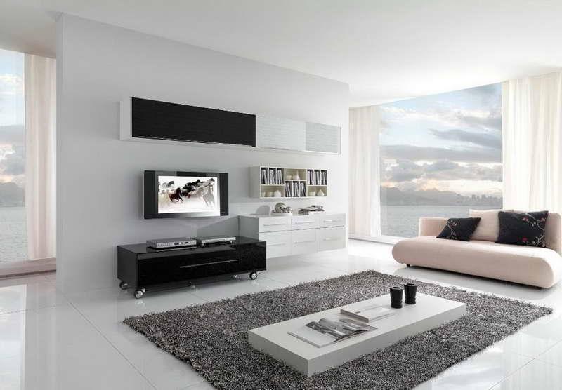 Contemporary-Living-Room-Decor-Ideas-With-Gray-Carpet